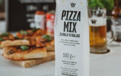 Novo v ponudbi: PIZZA MIX