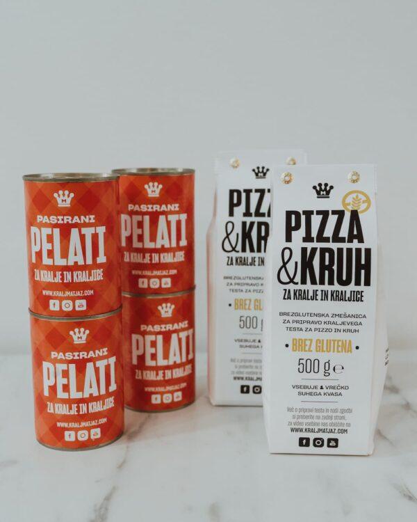 Pizza & kruh brez glutena in pelati