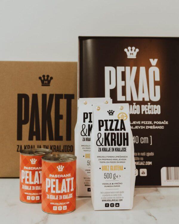 Pizza paket za Kraljevo družino BREZ GLUTENA