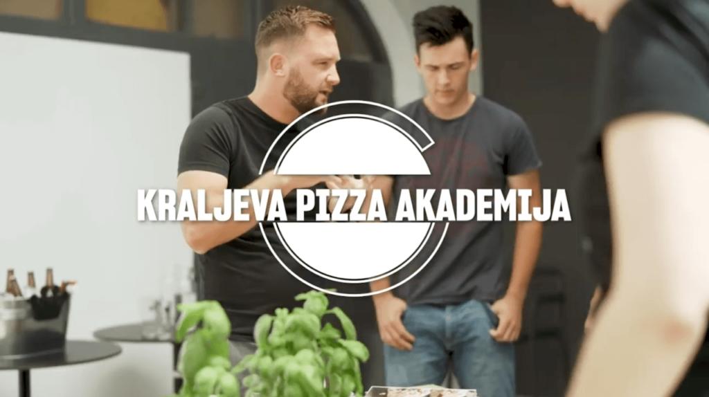 Posnetek iz kraljeve pizza akademije